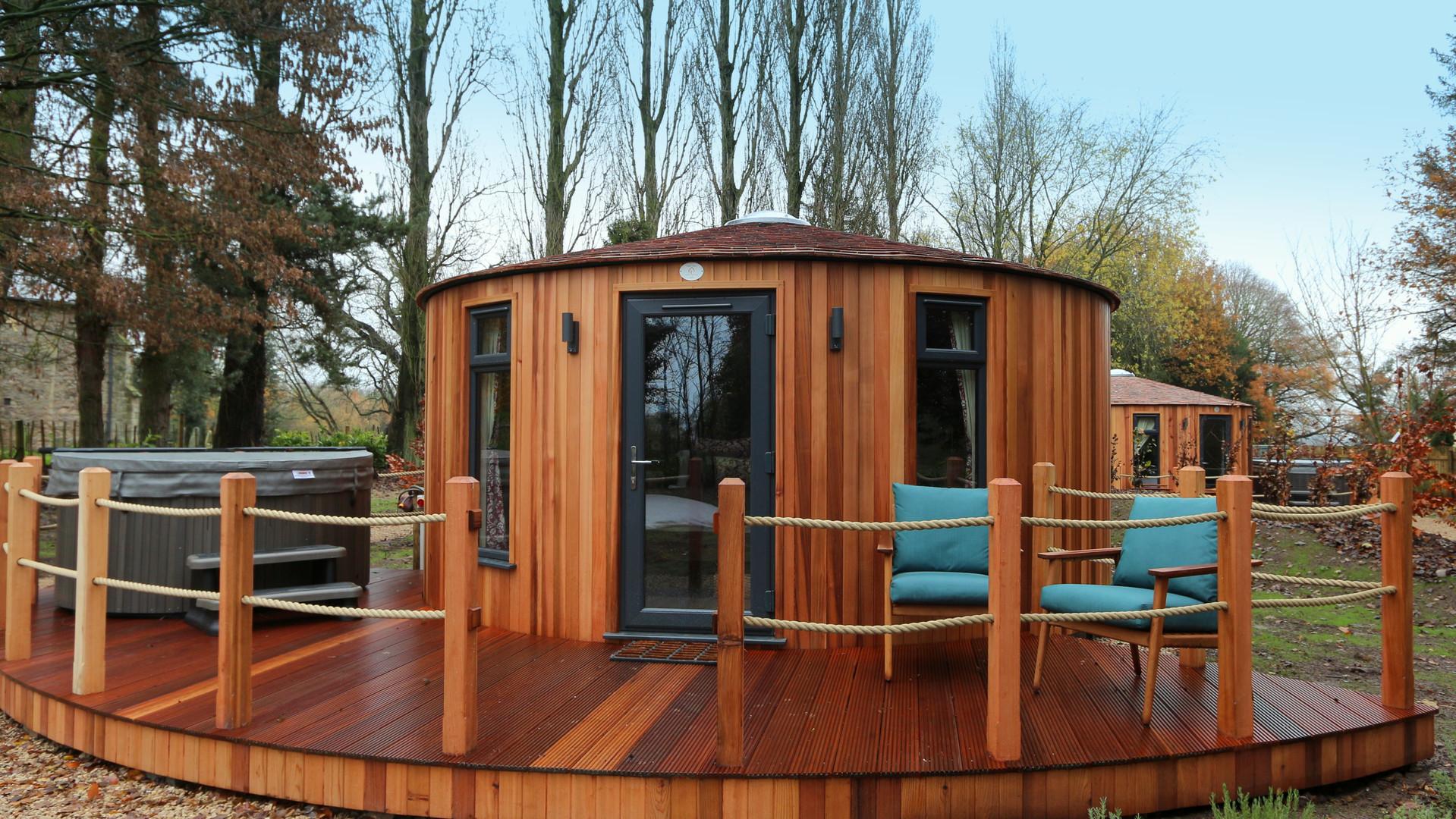 5 Metre Roundhouse Glamping Cabin