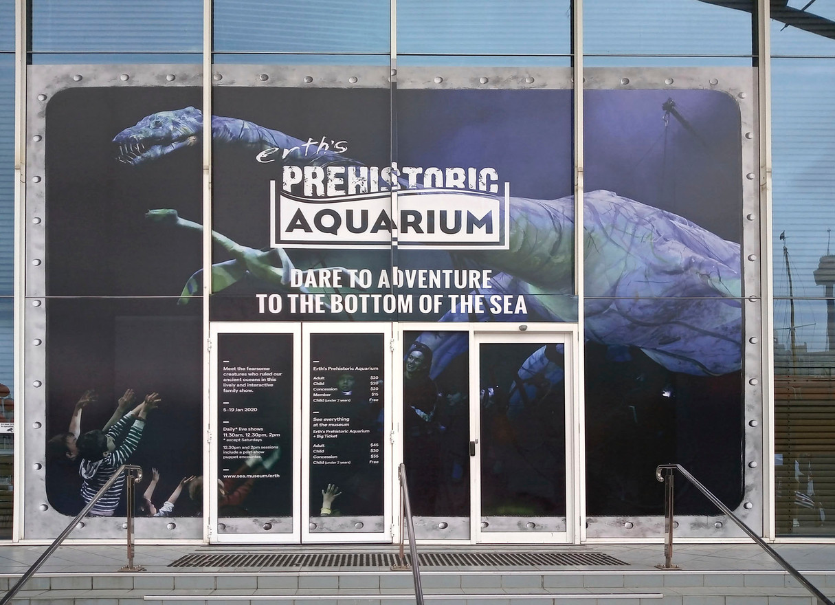 Large Scale Window Graphics