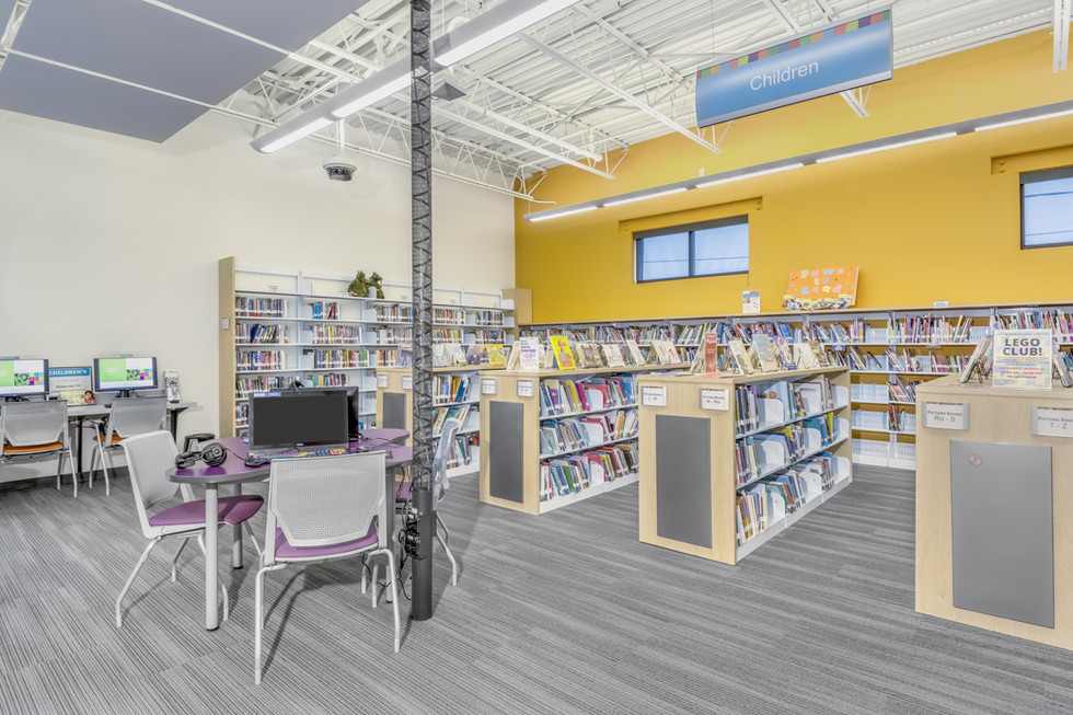 S Blvd Library- Larry Harwell Photography