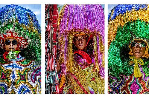Série : Cultura Popular Caboclo de Lança - 3 fotos - Erica Catarina Pontes