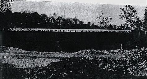 side view of Fiddler's Elbow Bridge