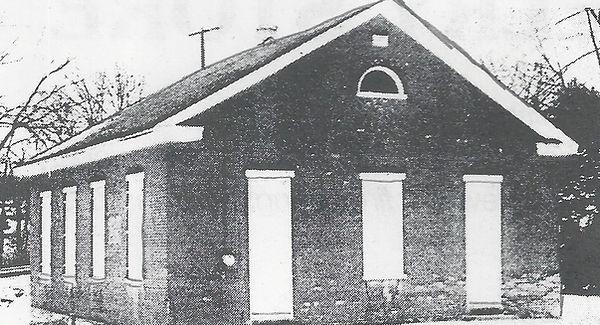 Photo of the Shope's Mennonite Church.