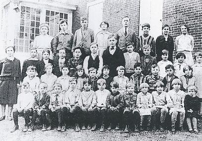 Ebenezer School.  Class of 1925.
