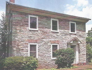 The John Motter farmhouse of the Star Barn