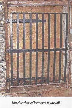 Cellar jail doors.