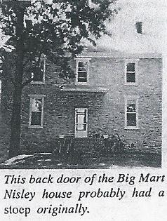Back doorof the Martin Nisley house.