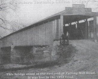 front view of Clifton Bridge