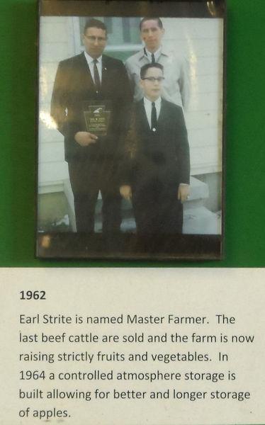 Earl is named Master Farmer in1962.