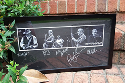 Framed, Autographed STB Montage Photo shot by M.J. Bragg Photography