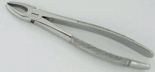 EXTRACTING FORCEPS 8""