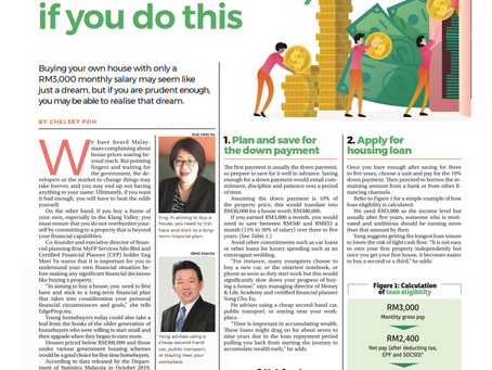 You can afford to buy a home, if you do this. The Edge Property, Cover Story