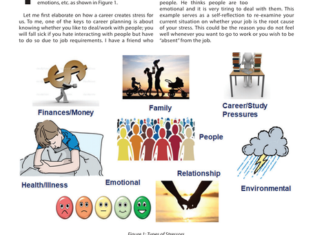 Different types of Stressor