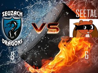 Spielbericht vom 29.04.18: Dragons 1 vs. Seetal Eichhörndlis