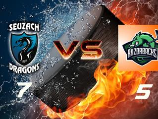 Spielbericht: Seuzach 2 vs. Razorbacks