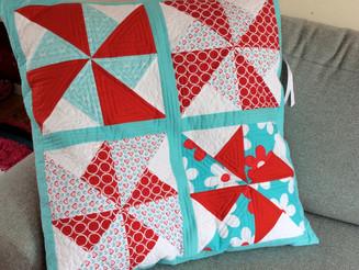 Pinwheels Jumbo Floor Cushion