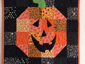 Happy Halloween Mini Quilt