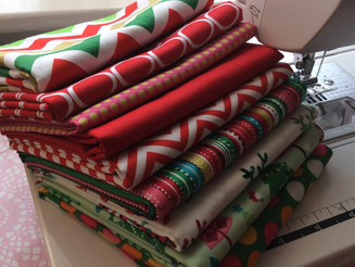 More Christmas Fabric just arrived