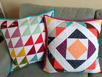 My Colour-burst Cushions