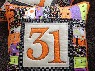 Quilted Halloween Cushions