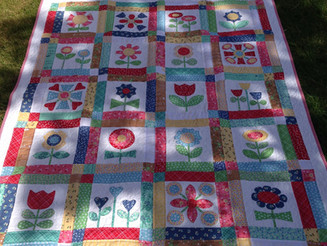 Bloom Quilt Done!!