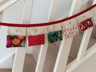 My Pocket Advent Calendar Bunting