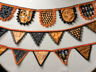 Halloween bunting on sale now