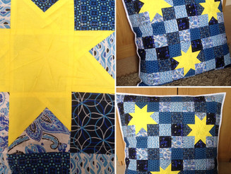 Starry Sky Jumbo Cushion