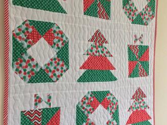Jolly Christmas Mini Quilt