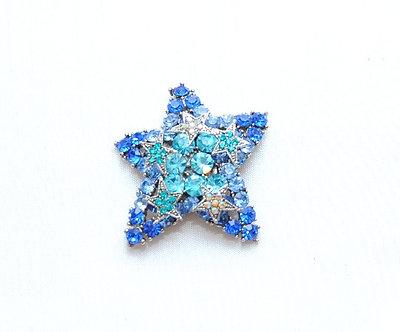 Blue Crystal Star