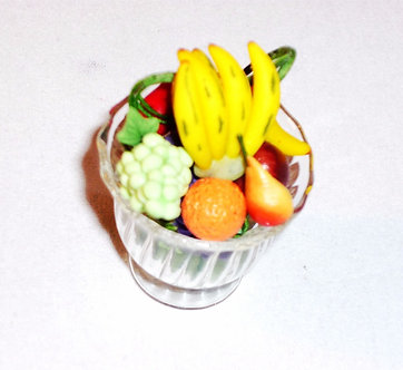 Fruit in a Flared Glass Blow