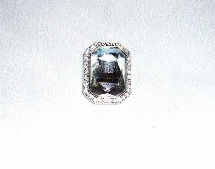 Square Diamond Crystal Pendant