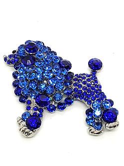Blue Crystal Poodle