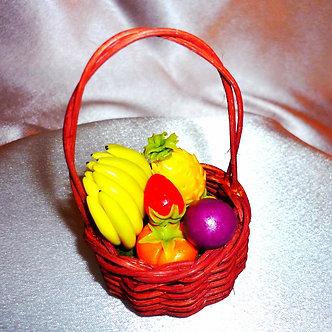 Fruit in Wicker Basket
