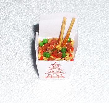 Stir Fry Take Out & Chopsticks