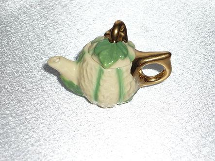 Cantelope Teapot