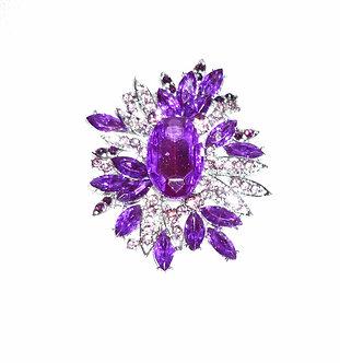 Purple Spikey Flower