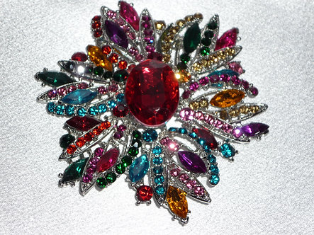 Large spikey Center Red Jewel