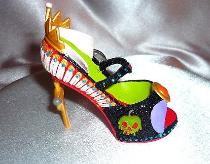 Evil Queen high-heel shoe collectible