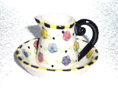 Petunia Water Pitcher & Bowl Set