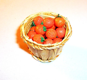 Oranges in Bushel Basket