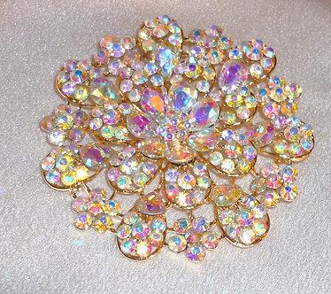 Rainbow Crystal Flower