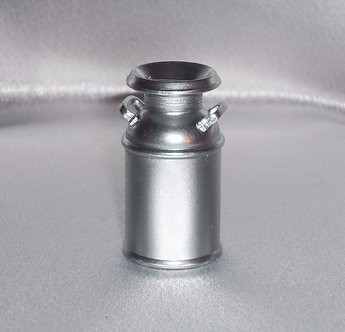 Silver Milk Canister