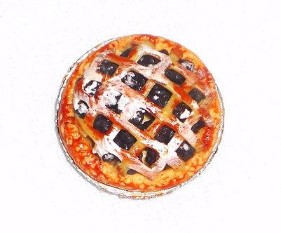 Berry PIe with Lattice Crust
