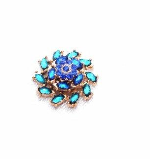 Multi-color Blue Flower