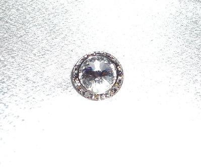 Swarovski Diamond Crystal Tie Clip
