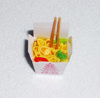 Chow-Mein Take-Out with Chopsticks