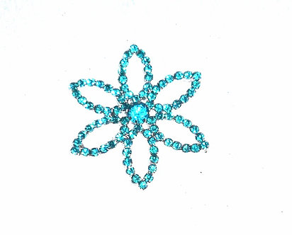 Turquoise Star Flower