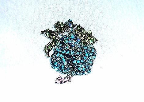 Small Blue & Green Flower