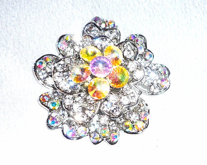 Crystal Flower & Cluster Rainbow Crystals