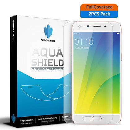 OPPO R9S Full Coverage Screen Protector [2 Packs]